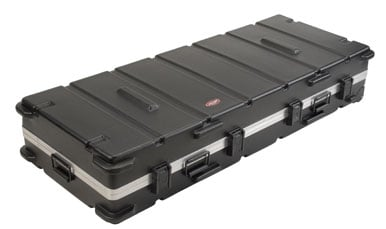 Large ATA 88-Key Keyboard Flight Case with Wheels