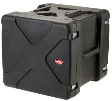 "10U Roto Shockmount Rack Case - 20"" Deep"