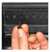 SKB Cases 1SKB-RRK8  8U Rear Rail Kit 1SKB-RRK8