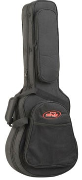Lightweight Foam Acoustic Guitar Case for Baby Taylor/Martin LX Guitars