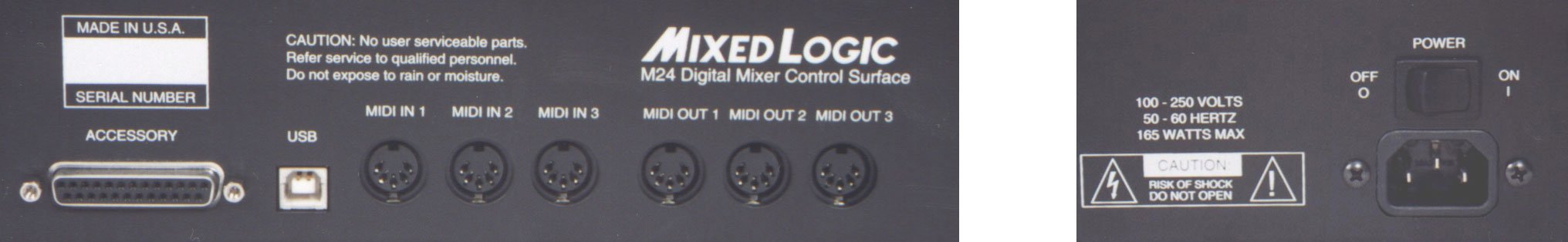 Control Surface, 24-fader