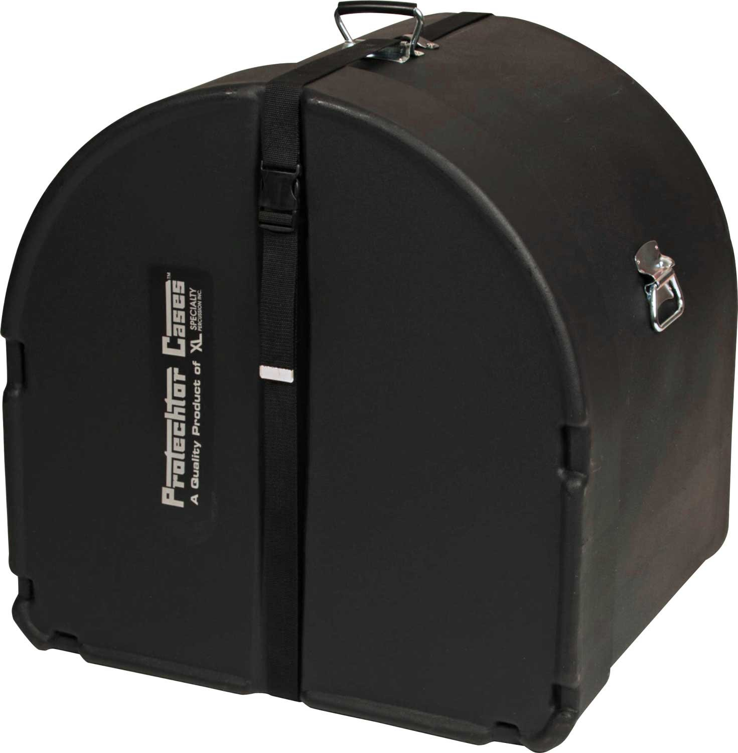 """14""""x28"""" Classic Series Marching Bass Drum Case by Protechtor"""