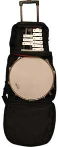 Backpack-Style Bag for Snare/Bell Kit with Wheels
