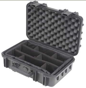 "Molded Case, 16 x 10 x 5.5"", Dividers"
