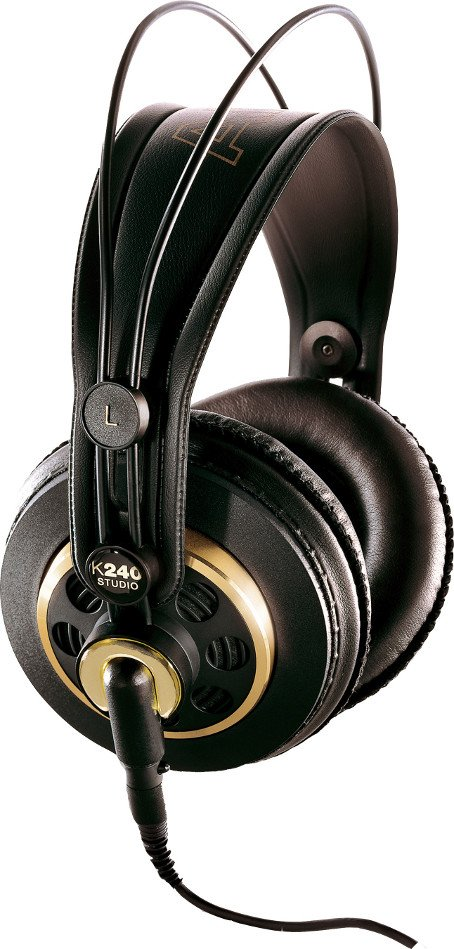 Semi-Open Over-Ear Stereo Headphones with 3M Detachable Cable