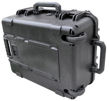 SKB Cases 3I-1914-8B-E  Molded Case, 19 x 14 x 8, Wheels, Empty 3I-1914-8B-E
