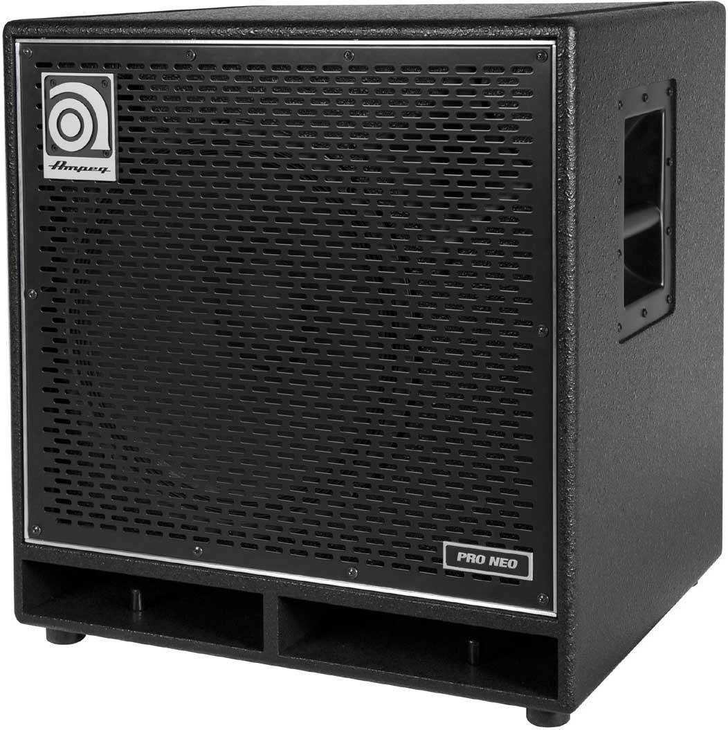 """Pro-Neo 1 x 15"""" Bass Speaker Cabinet, 575W RMS @ 8 Ohms"""