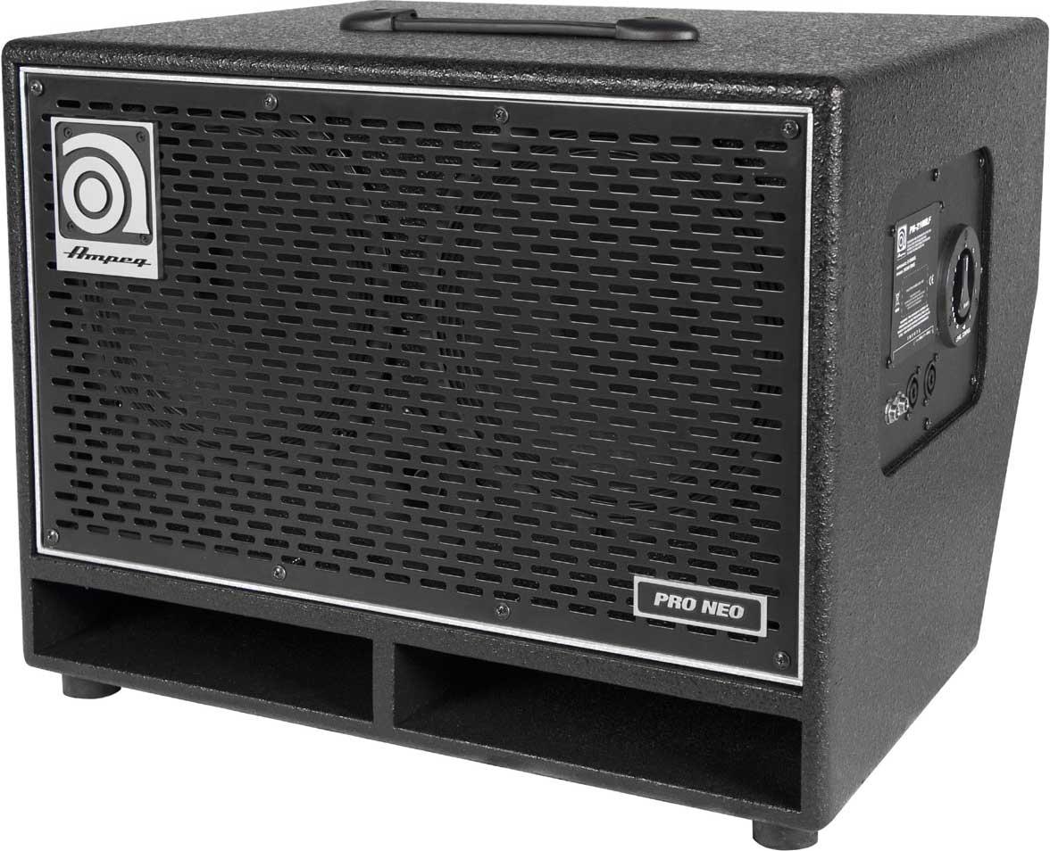 """Pro-Neo 2 x 10"""" Bass Speaker Cabinet, 550W RMS @ 8 Ohms"""