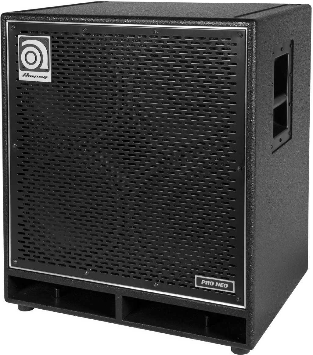 """Pro-Neo 4 x 10"""" Bass Speaker Cabinet, 850W RMS @ 8 Ohms"""