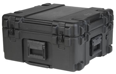 Roto Mil-Std Waterproof Case, 22 x 22 x 12, Dividers, Wheels