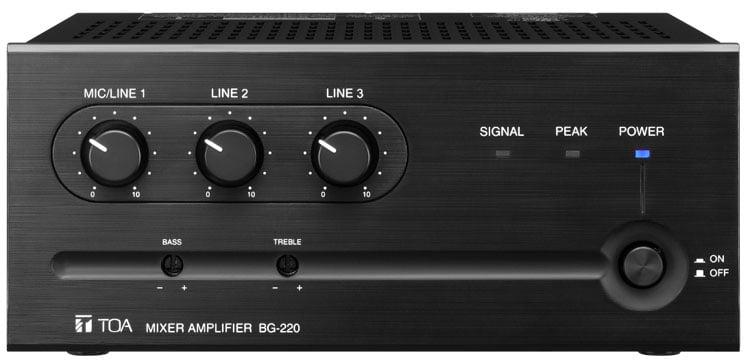 Mixer/Amp, 35W, 3 Input