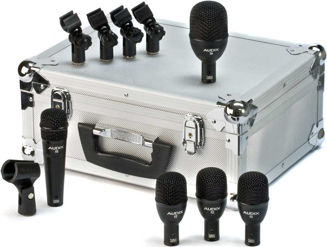 5-Piece Fusion Drum Mic Package