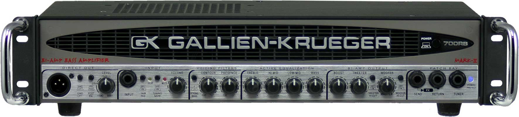 480W Bass Amplifier Head with 50W Horn Bi-Amp System