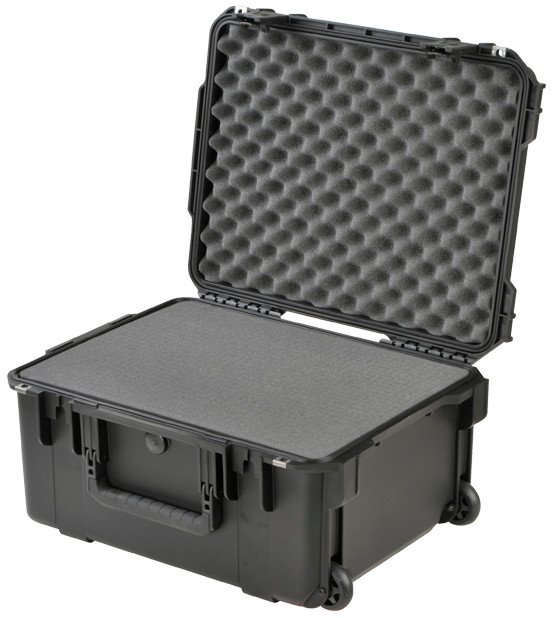 "iSeries Injection-Molded Utility Case with Cubed Foam - 20.5"" x 15.5"" x 10"""