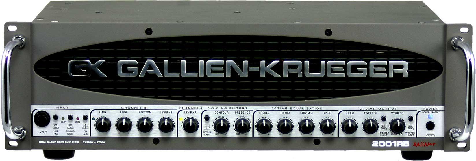 2x540W Bass Amplifier Head with 2x50W Horn Bi-Amp System
