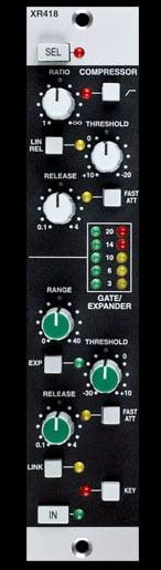 E Series Dynamics Module, SSL 4000 Series circuitry