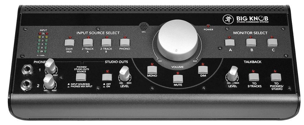 Studio Monitor Volume Controller and Selector with Onboard Talkback