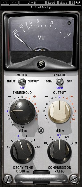 Eddie Kramer Vintage Compression Plugin