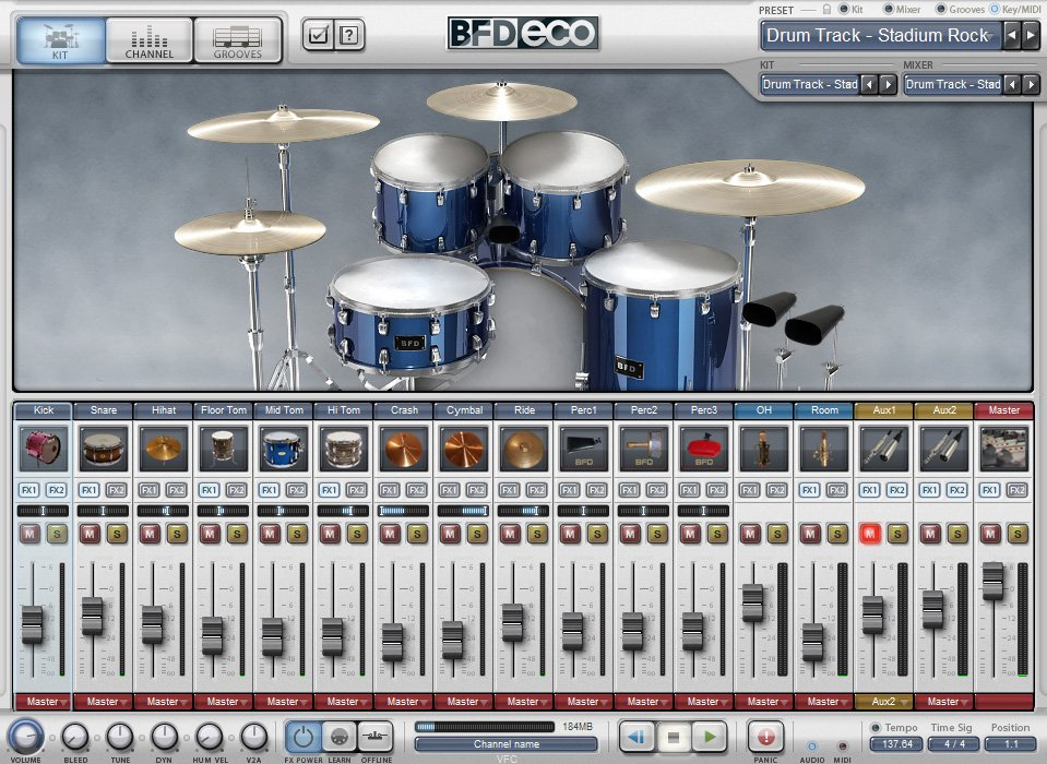 Software,Virtual Acoustic Drum