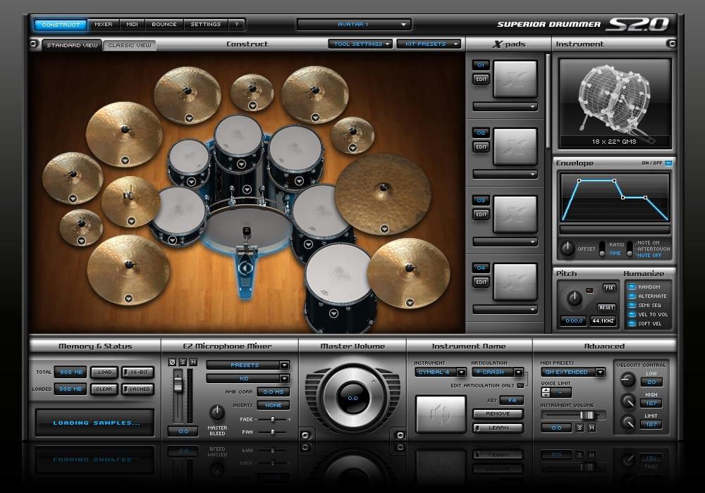 Crossgrade from EZdrummer to Superior Drummer 2.0