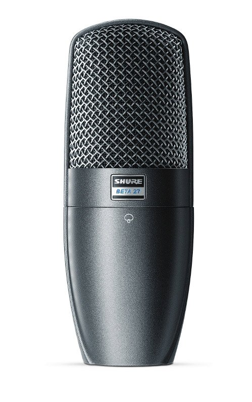 Large Diaphragm Side-Address Supercardioid Condenser Microphone