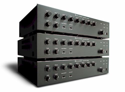 30 Watt 8 Port Mixer/Amplifier