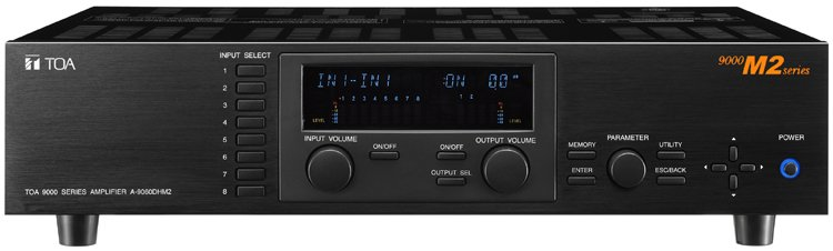 A-9060DHM2 Modular Digital Amp/Mixer 2x60W 70V