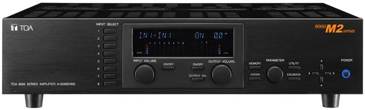 A9120DHM2 Modular Digital Mixer Amp, 2x120W 70V