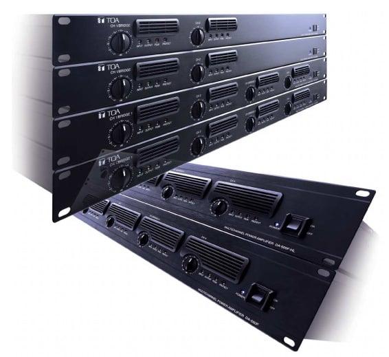 DA-250DH Digital Power Amp 2x250W 70V, 1RU