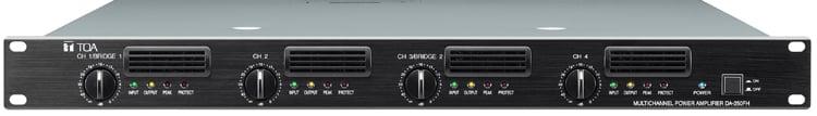DA Series 4-Channel 1000W 70V Rackmount Power Amplifier