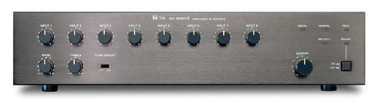 8-Channel Mixer/Preamplifer