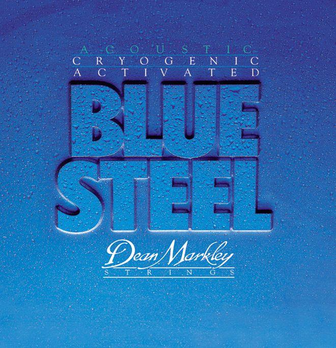 Medium LIght Blue Steel Acoustic Guitar Strings