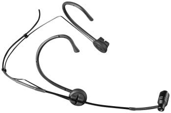 Black Unidirectional Cardioid Microphone