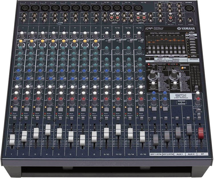 Yamaha EMX5016CF 500W 16 Channel Powered Mixer EMX5016CF-CA