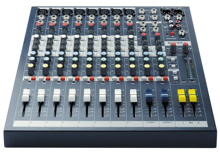 8 channel mixer by soundcraft epm8 full compass systems