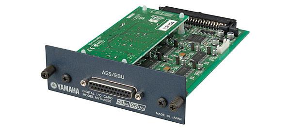 Yamaha MY8AE96 96 kHz Series Mini YGDAI 8-Channel AES/EBU Card MY8AE96-CA