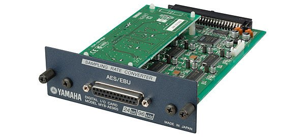8-Channel AES/EBU Card with Sample Rate Conversion