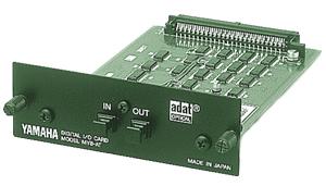 8 ADAT Digital Format I/O (optical connectors)