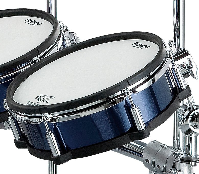Blue Shell Wrap Package for TD20SX V-Drums Kit