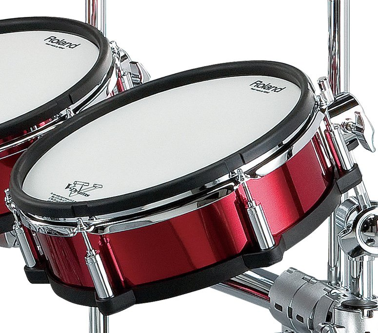 Red Shell Wrap Package for TD20SX V-Drums Kit