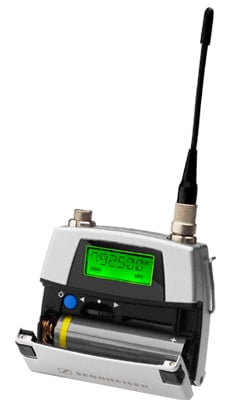 UHF Miniature Bodypack Transmitter