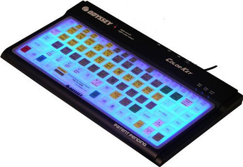 Keyboard Control Skin (for COLORKEY, Serato & Traktor Scratch Shortcuts)
