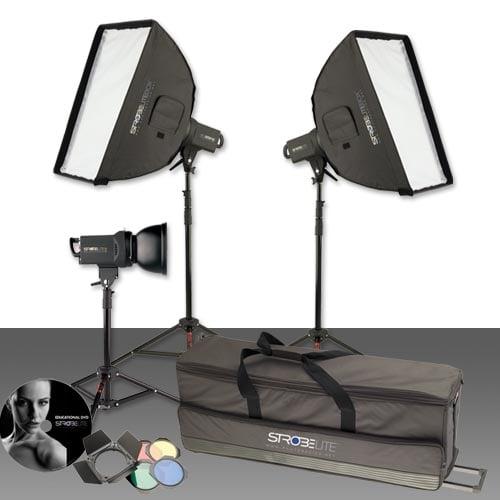 Strobelite PLUS Three Light Kit