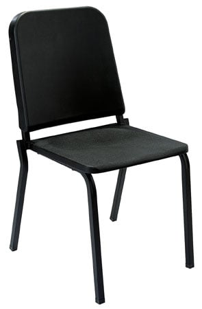 Melody Chair, Stackable , Black