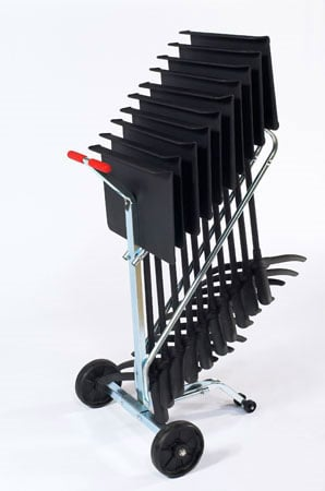 Music Stand Dolly, 10 Stand Capacity