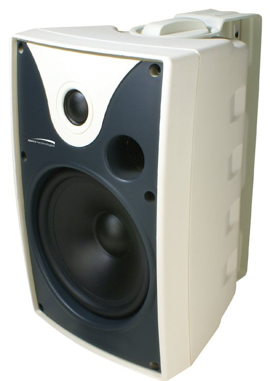 "6.5"" AWX Series Indoor/Outdoor Speakers with Transformers, White, Pair"