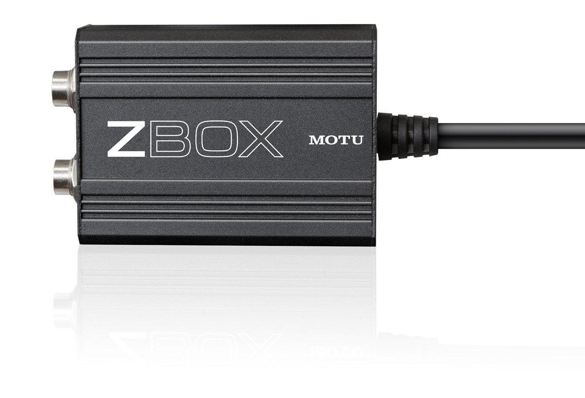 MOTU ZBox Guitar Pickup Impedance Adapter ZBOX