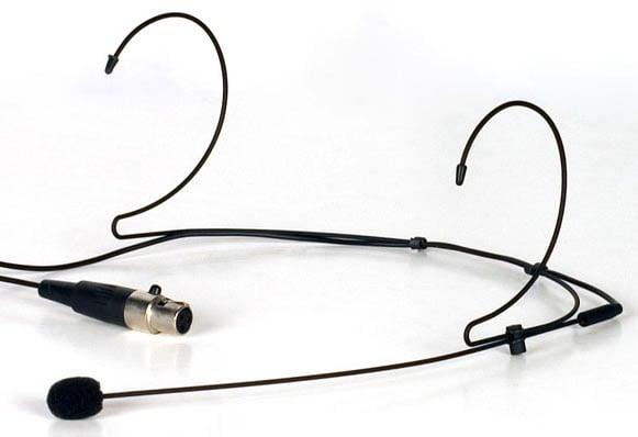Lightweight Earclip Headset for UHF/VHF Body-Pack