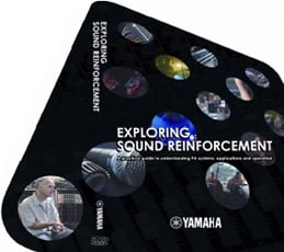 Yamaha SR-DVD Exploring Sound Reinforcement Instructional DVD SR-DVD-CA