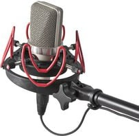InVision Universal Large Diaphragm Studio Mic Shock Mount LITE